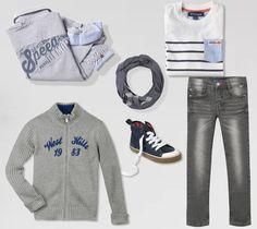 L'outfit perfetto per il primo giorno di scuola  #backtoschool #autumn15 #newcollection #ycc by #Zgeneration #kids #boy