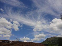 O céu sempre me encanta !