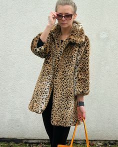 Cheetah is never out of style. A timeless piece.