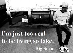 Some people i know should live by this quote as well! Big Sean Quotes, Big Sean Lyrics, Favorite Words, My Favorite Music, Lyric Quotes, Me Quotes, No One Loves Me, Music Lyrics, Make You Smile