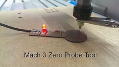 This is a Simple Guide on how to use a Probe Tool in Mach 3 to find the exact top of a material. You can use an input on your CNC Controller, but if you don't. Cnc Router Table, Cnc Controller, Cnc Plasma Cutter, Router Cutters, Cnc Software, Router Projects, Cnc Parts, Hobby Cnc, 3d Cnc