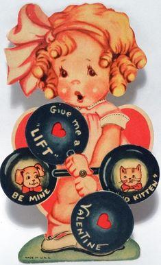 Charles Twelvetrees Valentine. My Funny Valentine, Vintage Valentine Cards, Vintage Greeting Cards, Love Valentines, Vintage Postcards, Printable Valentine, Valentines Illustration, Old Cards, Vintage Children