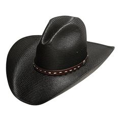Stetson Graydon Black Straw Hat (7 1-2) Cowboy Hat *** Want additional info? Click on the image.