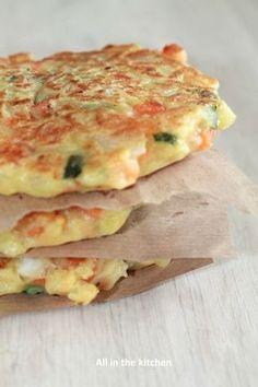 Recette de galettes de légumes prêtes en quelques minutes !