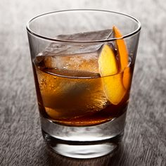 This simple bourbon drink is pure old-school.