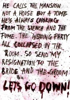 To The End ~ My Chemical Romance