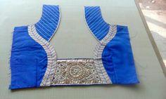New Blouse Designs, Pattu Saree Blouse Designs, Choli Designs, Dress Neck Designs, Gold Haram Designs, Designer Blouse Patterns, Blouse Models, Neck Pattern, Blouse Styles