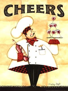 chef-cheers-by-sydney-wright-706766 371×500 píxeles