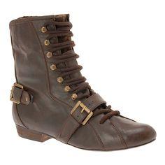 #Kerska leather boots in #cognac - $80.00