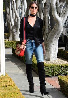 Emily Ratajkowski's Reformation Top Is Date-Night Perfect. #celebritystyle #fashion