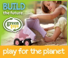 At Green Toys, we play for the planet.  Be sure to check out our NEW toys and learn more about how at Green Toys, we play for the planet.  #playfortheplanet