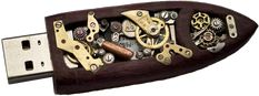 The above SteamPunk Flash Drive was a one of a kind piece.  I hope this inspires a wave of flash drives.