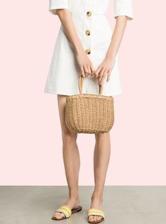 951f70868c The Best Under- 150 Buys Of The Month. Little straw bag with small ...