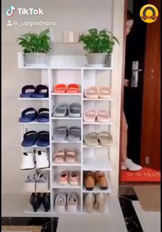 hold Simple Multi-Layer Storage Non-Woven Organizer Shoe Storage Design, Diy Shoe Storage, Shoe Storage Cabinet, Rack Design, Shoe Storage Solutions, Shoe Shelves, Wood Shoe Rack, Diy Shoe Rack, Diy Home Crafts