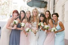 Wedding Trends: Bridesmaids Dresses...Breaking tradition with variety