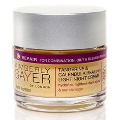 Kimberly Sayer Tangerine and Calendula Healing Light Night Cream * Check out this great beauty product.