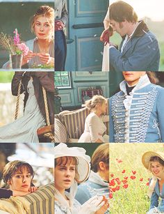 pride & prejudice. Oddly enough I love this movie. But only this exact version with Keira Knightly.