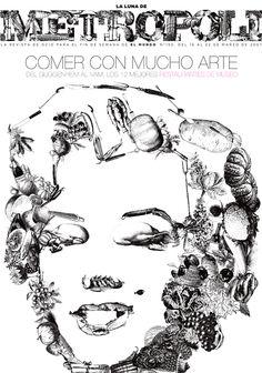 RESTAURANTES DE MUSEO. Ilustración de Raúl Arias.