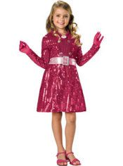 Halloween Costumes Sharpay Dress With Wig 16