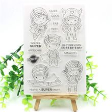 1pc New Clear Stamps Scrapbook Paper Craft Clear stamp scrapbooking(China)
