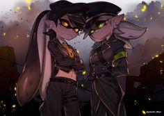 イカ詰め #SquidSisters #Callie #Marie