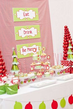 Holiday Christmas Christmas/Holiday Party Ideas | Photo 1 of 12