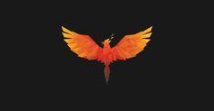 Phoenix Design, Phoenix Tattoo Design, Phoenix Vector, Phoenix Drawing, Fire Lion, Chakra Tattoo, Lion Illustration, Dragon Sketch, Polygon Art