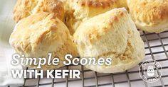 Simple Scones with Kefir Recipe