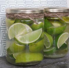 Salt pickled lime - good for Morrocan cuisine