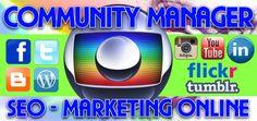 Posicionamiento Web, Administrador de Redes Sociales, Community Manager Guayaquil, SEO, SEM, Diseño de Paginas Web y Blogs, Twitter, Facebook, Instagram, Youtube, Flickr. Contratos: 0994900773 VISITANOS: http://communitymanagerguayaquil.blogspot.com/