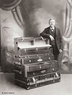 This page features authentic trunk makers labels from makers starting with J through P Old Trunks, Vintage Trunks, Trunks And Chests, Antique Trunks, Vintage Caravans, Vintage Campers, Vintage Trailers, Wooden Containers, Vintage Luggage
