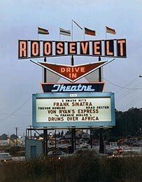 Drive In - now only a memory.