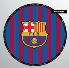 TOALLA FC BARCELONA REDONDA 2 METROS MICROFIBRA