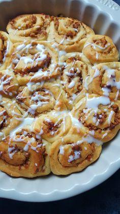 Rezept für Hefeschnecken mit Mandel-Nuss-Füllung - Bastelmädchen