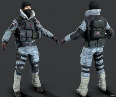 Frost » Pack 3D models 3d Model Character, Character Modeling, Siege Operators, Sci Fi Games, Rainbow 6 Seige, Modern Warfare, Royal Navy, Special Forces, Military History
