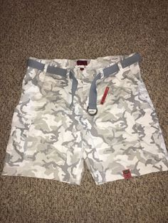 29d59fbd80 NWT Foundry Mens Flex Cargo Shorts Big & Tall Sz 50 Camo White Gray Belt  #fashion #clothing #shoes #accessories #mensclothing #shorts (ebay link)