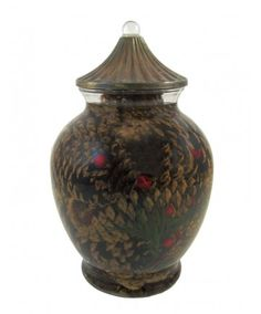 Pinecone Ginger Jar Oil Candle