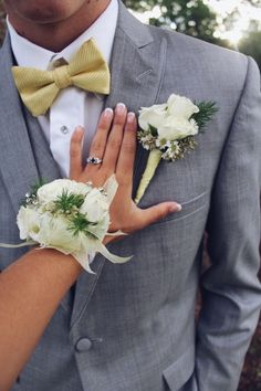 See more of content on VSCO. Prom Pictures Couples, Prom Couples, Prom Photos, Wedding Couples, Prom Corsage And Boutonniere, Bridal Brooch Bouquet, Corsage Wedding, Corsages, Homecoming Poses