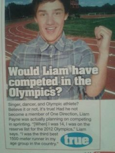 i love to see him in the olympics (: