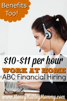 LATEST POST AT MONEYMAKINGMOMMY.COM: We keep hearing the economy is recovering -- but many are still out of work even though they've been job hunting. If you're someone that needs to find a job and doesn't mind the idea of working at home -- here's a decent position with a reputable company. Get all the details and find out how to apply. #WORKATHOME