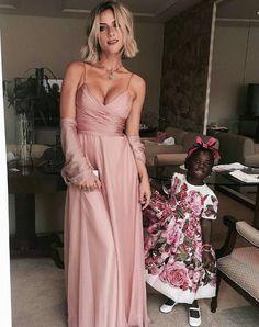 Gio Ewbank madrinha casamento marina ruy barbosa- vestido de festa rosa