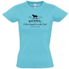 T-Shirt Women BOERBOEL Vintage Logo Hund Hunde Siviwonder bis XXL/42