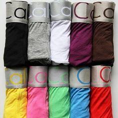 Promotions ! Sexy Modal Boxers Underwear 10 Colors Men's Underwear Boxer Shorts