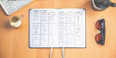 Hoping to combine the function of a life planner into the sleek design of a basic, modern notebook, Kate interviewed dozens of fellow notebook lovers, across multiple disciplines, on her quest to bring the perfect notebook to life.  This is it, The Volt Planner with Notes.