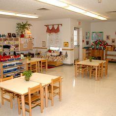 In a Montessori classroom.