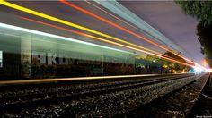 La luz que deja la locomotora... HECHOS-FE-SENTIMIENTOS