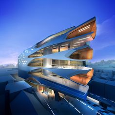 De mooiste gebouwen van sterarchitect Zaha Hadid (1950-2016) - NRC