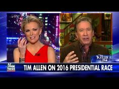 Watch how Tim Allen reacted when Megyn Kelly asked him about Hillary Clinton – Rare
