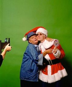 """Truman Capote (author) and Andy Warhol (artist), New York City by Mick Rock. """"Fame is only good for one thing - they will cash your check in a small town"""" (Capote). """"In the future, everyone will be famous for 15 minutes"""" (Warhol). Andy Warhol, Robert Rauschenberg, Guy Fawkes, Christmas Style, Vintage Christmas, Merry Christmas, Father Christmas, Modern Christmas, Christmas Movies"""