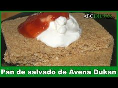 ABCDietas y Salud. Recetas, Información y Guía.: PAN DE SALVADO DE AVENA- FASE ATAQUE Pan Dukan, Mashed Potatoes, Pudding, Snacks, Healthy, Ethnic Recipes, Desserts, Food, Fitness